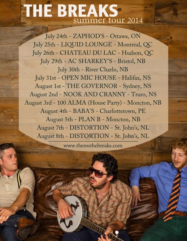 The Breaks Summer Tour
